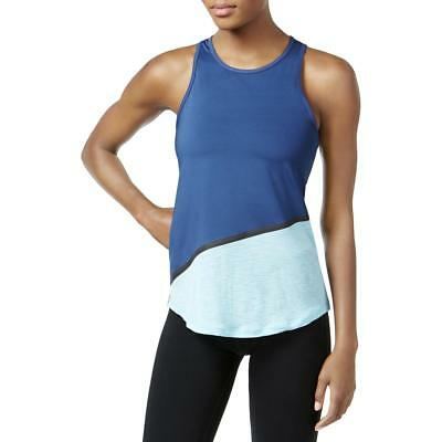 Ideology Womens Colorblock Fitness RapiDry Tank Top Shirt BHFO 5532