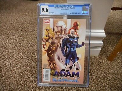 Adam Legend of the Blue Marvel 1 cgc 9.6 1st appearance Adam 1st Anti-Man 2009