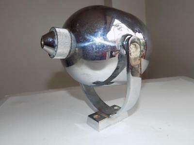 Art DecoType Chrome Spotlight Shaped Soap Dispenser From An Old Gentleman's Club