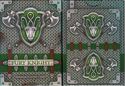 Fury Knight Playing Cards Poker Size Deck LPCC Custom Limited Edition Sealed New