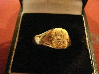 Ancient Roman / Byzantine Ring--Detector Find