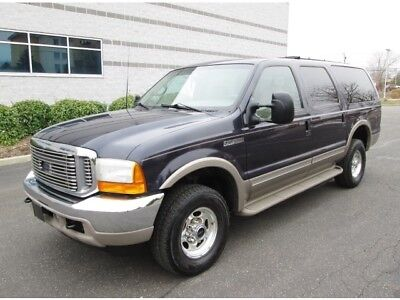 Excursion Limited 2001 Ford Excursion Limited V10 4X4 Loaded 1 Owner Serviced Clean Rare Find