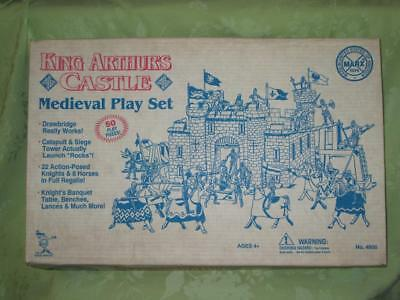 Marx Toys ~ King Arthur's Castle Medieval Play Set ~ incomplete ~ as is for pcs.