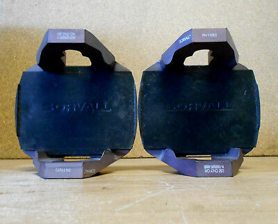 Set of 2 DuPont Sorvall 11093 Centrifuge Microplate Carriers for H-1000B / RT-H2