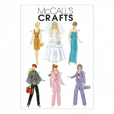 MCCALLS CRAFTS Sewing Pattern 6258 Fashion Clothes For 11\