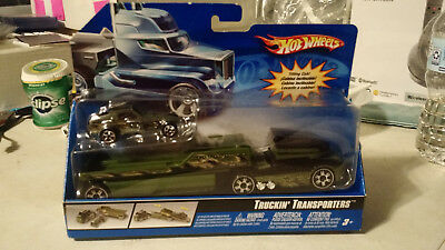 Hot Wheels Truckin' Transporters 2006 L3191 Green ...