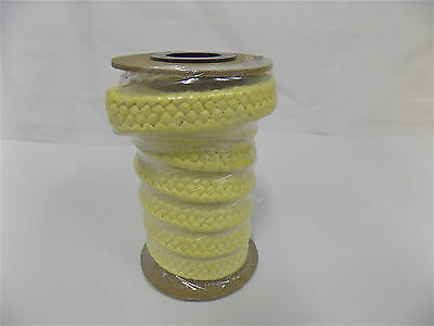 """Professional 31952567 1/2"""" x 3Ft Yellow Tfe/Aramid Compression Packing Material"""