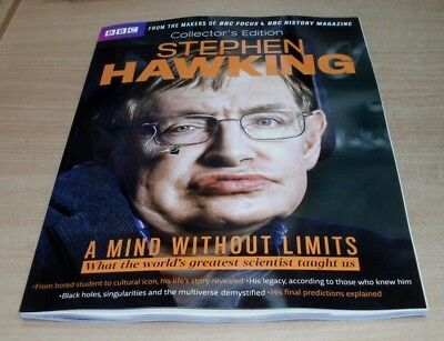 BBC History magazine Collector's Edition 2018 Stephen Hawking Mind Without Limit