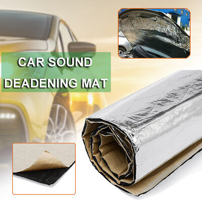 Automotive Firewall Heat Insulation Sound Deadener Deadening Noise Material Mat