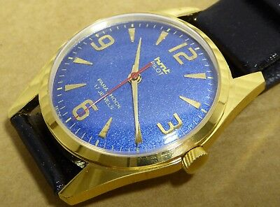 Gents HMT Pilot watch, good condition, working order, 17 jewels, 35mm case.