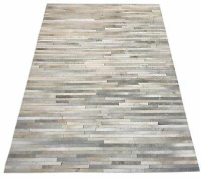 kuhfell teppich grau patchwork cowhide rug grey tapis. Black Bedroom Furniture Sets. Home Design Ideas
