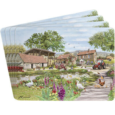Leonardo Collection Farmyard Design Set of Four Place Mats