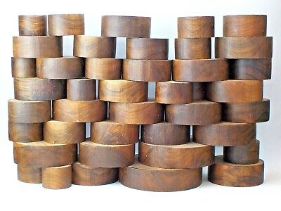 English Walnut Woodturning or Carving Bowl Blanks. 50mm, 65mm, 75mm thick