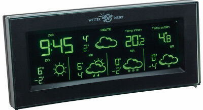 Funk-Wetterstation Aura Tfa 35.5061.01.it Wetterstationen Farbwechsel Display