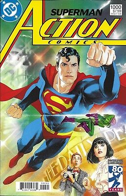 Superman Action Comics issue 1000 Limited 1980's Decades variant
