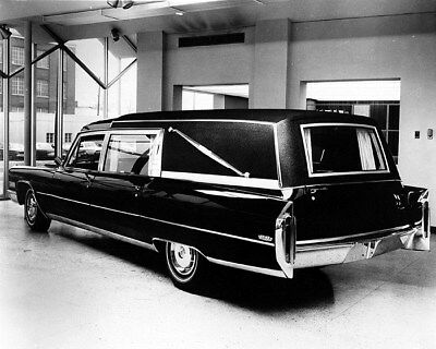 1966 Cadillac Miller Meteor M&M Hearse Factory Photo cb0145