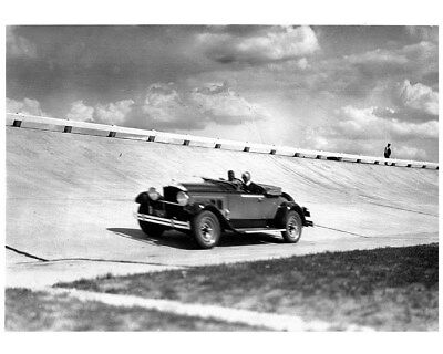 1929 1930 ? Packard Roadster Proving Ground Track Factory Photo cb0128