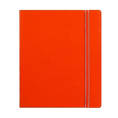 Filofax Classic Notebook - Orange - Executive Size (9.25 x 7.24 inches) 115904
