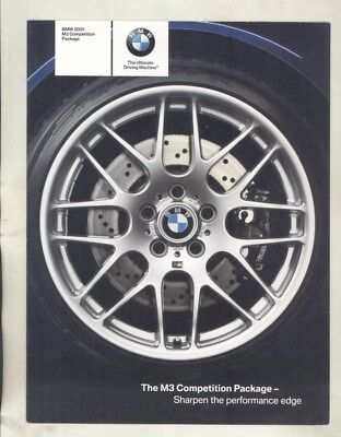 2005 BMW US M3 Completion Package Brochure wz2071