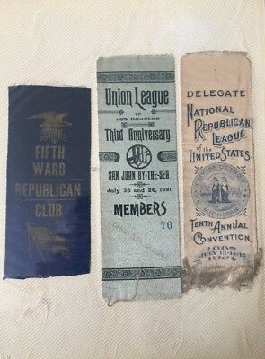 52 Ribbons 1890-1910's Political and Other Events