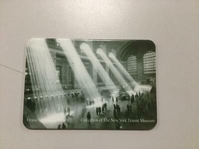 "New York City~Metro Card Holder~Old  Grand Central Station 3 1/2"" X 2 3/8"