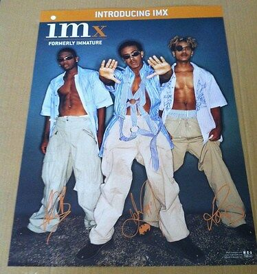 Im Imx 1999 Retail Promo Poster For Introducing Cd Marques Houston 18x24