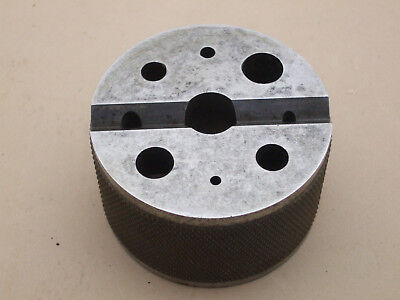 """Large Bench Block Jewelers, Toolmakers, machinists- 3""""O.D. x 1.8"""" High"""