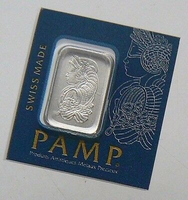 1 GRAM PAMP SUISSE MultiGram PLATINUM BAR .9995 PURE **** LOWEST BIN PRICE ****