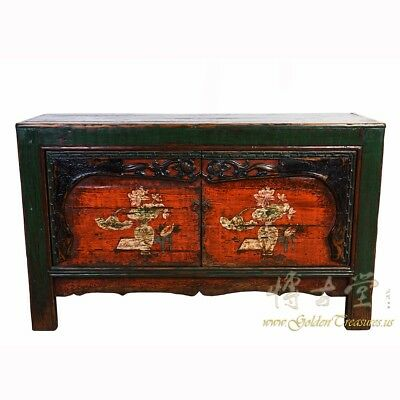 Chinese Antique Mongolia Cabinet/Buffet Table Sideboard 18LP29