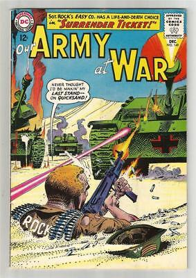 Our Army at War #149, Dec. 1964