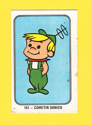 The Jetsons Elroy Vintage 1960s Hanna Barbera Cartoon Card from Spain #151