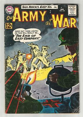 Our Army at War #126, Jan. 1963