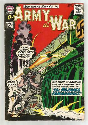 Our Army at War #122, Sept. 1962
