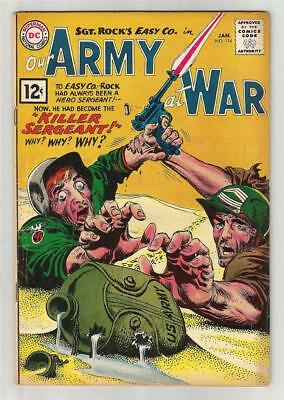 Our Army at War #114, Jan. 1962
