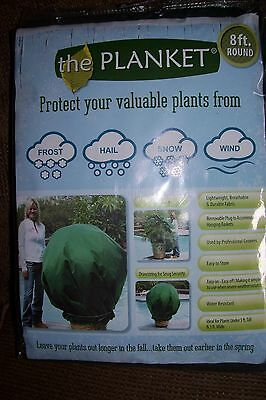 the Planket Frost Protection Plant Cover 8 ft Round