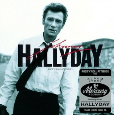 JOHNNY HALLYDAY - Rock'n'Roll attitude NOUVEAU CD