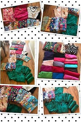 65 Scrubs S Small Few Mediums Nurse Tops & Bottoms Uniforms