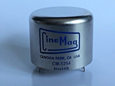 Cinemag CM-1254 PC  MC phono moving coil hookup transformer