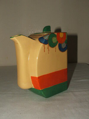 Edna Best Art Deco Handpainted Abstract Coffee Pot  Truly Stunning