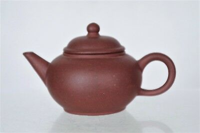 Beautiful Collectable Chinese Hand-crafted Yixing Miniature Teapot - 2 marks