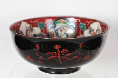 Fabulous Large Antique Japanese Hand-painted Bowl