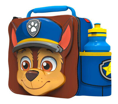 3D Paw Patrol Lunch Bag with Bottle Kids Children Insulated Food Drink Sports