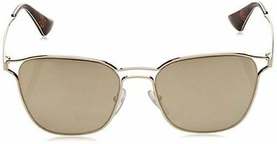 Prada Women's Double Bridge Sunglasses - Pale Gold - 53mm (54TS -ZVN1C0)