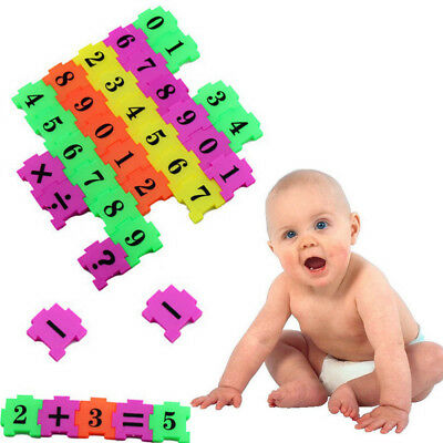36Pcs Baby Child Number Symbol Puzzle Foam Maths Educational Toy Gift  Doll
