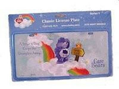 License Plate Care Bear Rix products LLC Classic metal new