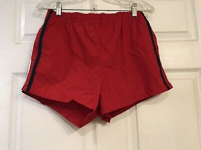 Vintage 80's Jantzen Swim Trunks Shorts Made in USA Men's 36 New