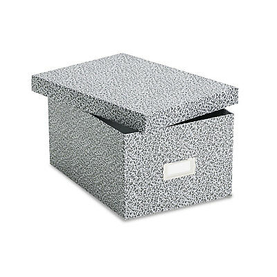 Oxford Reinforced Board Card File Lift-Off Cover Holds 1 200 5 x 8 Cards
