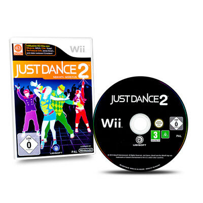 Nintendo Wii Game Just Dance 2 with original packaging without Guide #A