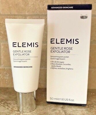 ELEMIS Gentle Rose Exfoliator Smoothing Radiant Soft Skin Polish 1.6oz BOXED!!