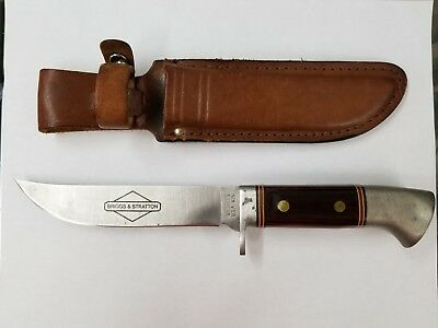 Vintage Fixed Blade Sheath Knife W36 Hunting Fighting